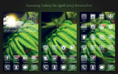 April 2013 Screenshot