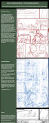 Ibuki Legends 1 pg 9 breakdown by Omar-Dogan