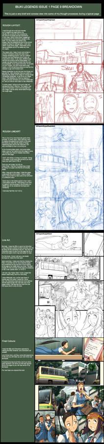 Ibuki Legends 1 pg 9 breakdown
