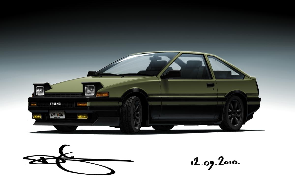 AE86 Trueno by Omar-Dogan