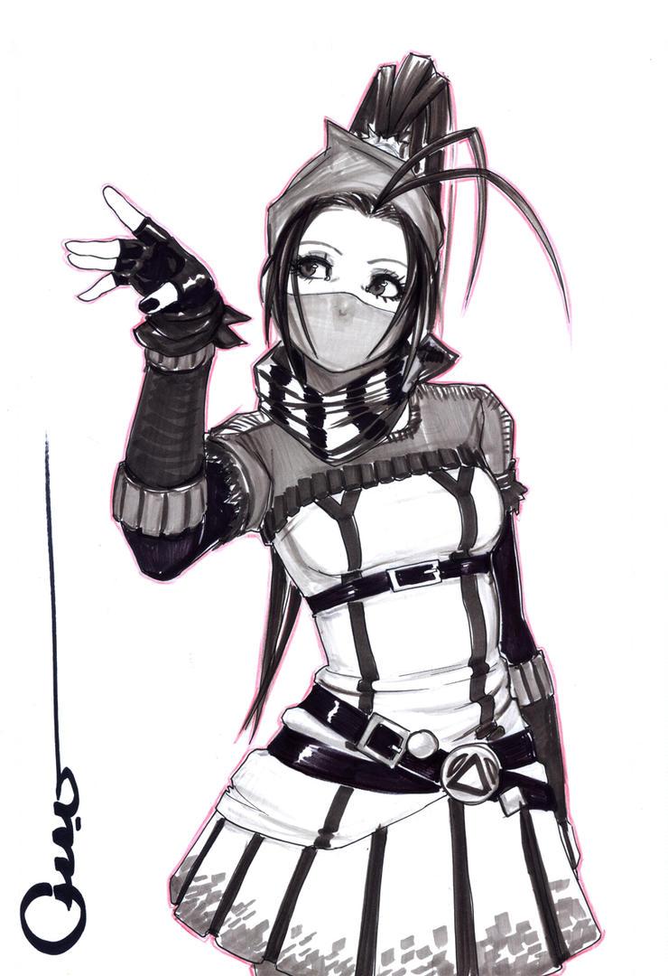Punk Ibuki by Omar-Dogan