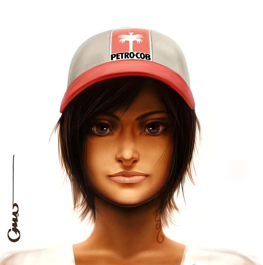 GG portrait by Omar-Dogan