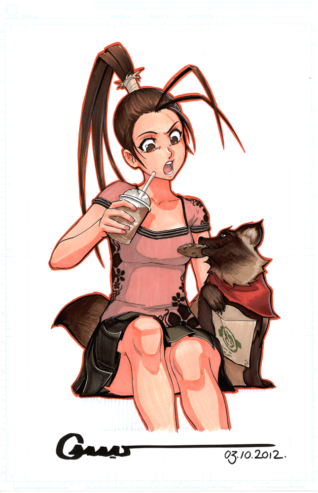 Ibuki and Don by Omar-Dogan