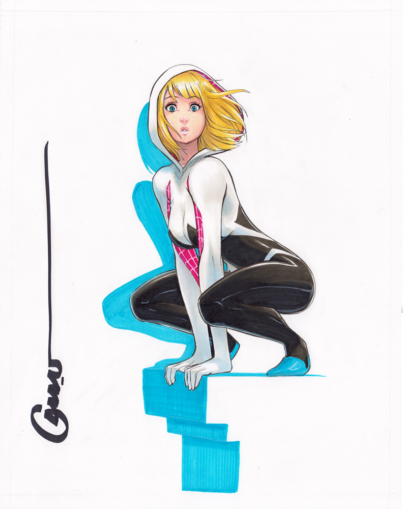 Spider Gwen by Omar-Dogan