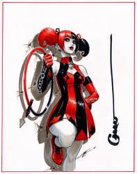 Harley Quinn 52 alt uniform by Omar-Dogan