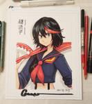 Ryuko Matoi Sketch by Omar-Dogan