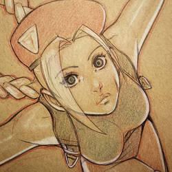 Cammy Sketch Close up