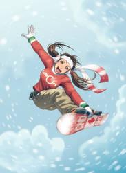 Snow Girl by Omar-Dogan