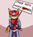 Fans Need More Megaman by ichduhernz