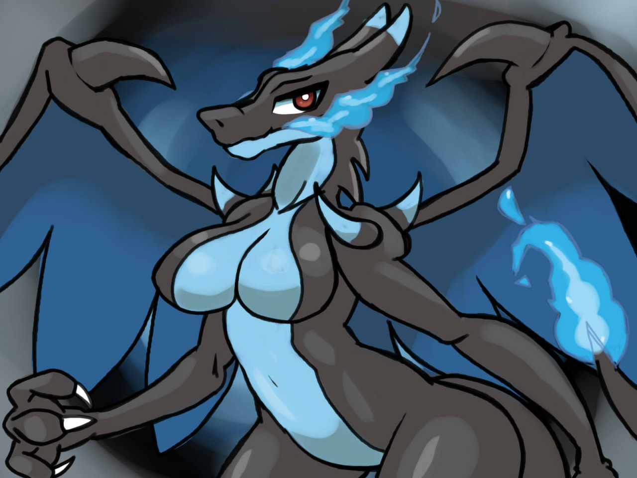 sexy pictures of charizard as a girl