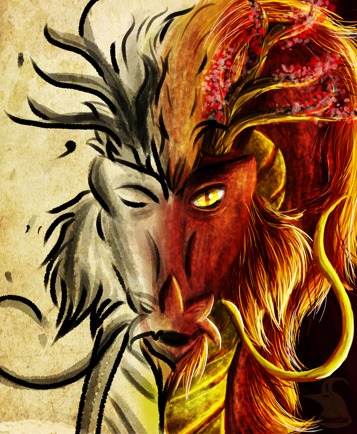 Dynasties Apart - DrawWithJazza April COTM by AgentLaufeyson