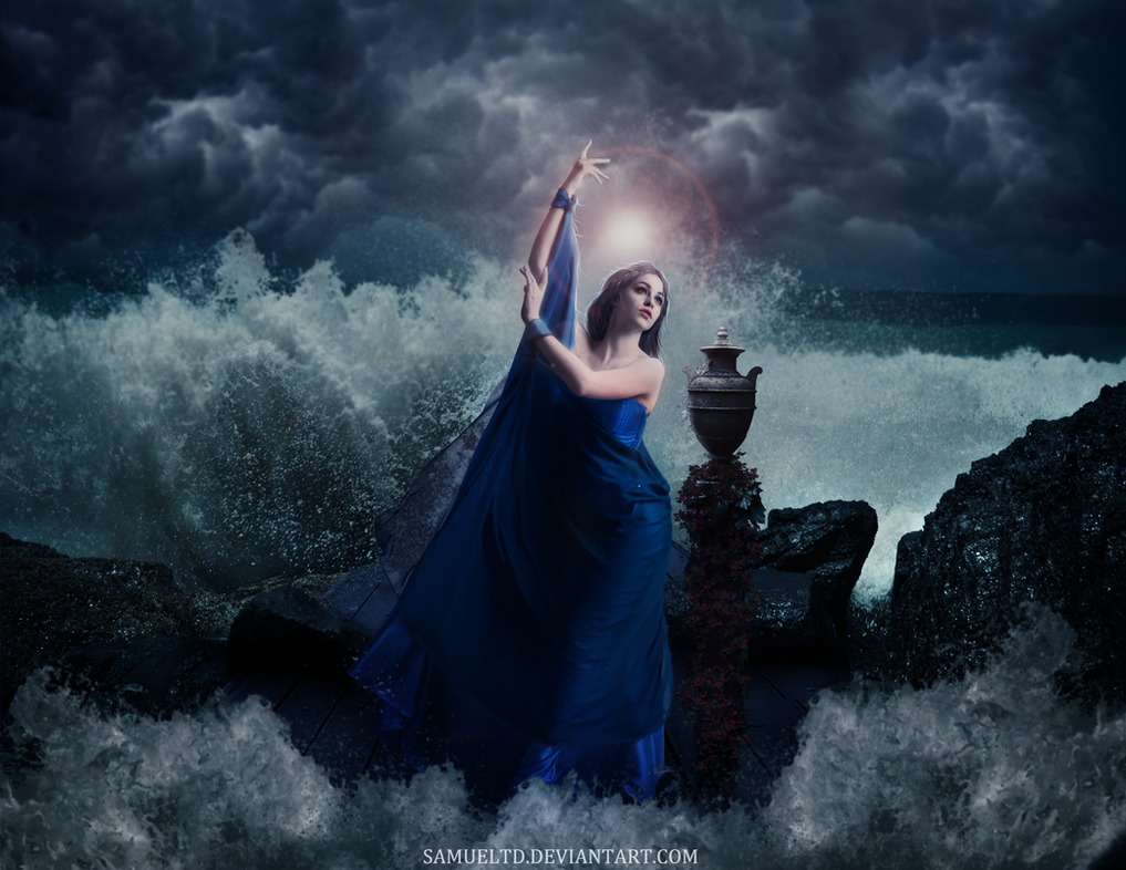 Goddess II by samueltd
