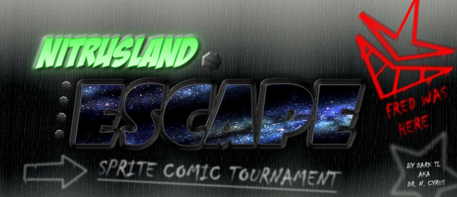 Nitrusland Escape - Sprite Comic Tournament!! by Dark-TL