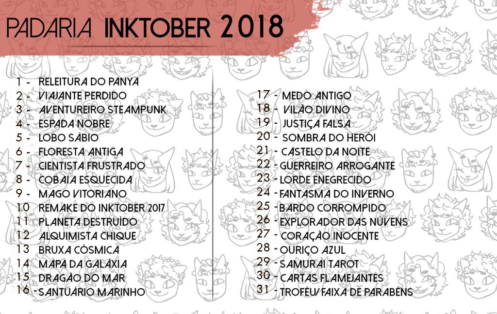 Padaria Inktober 2018 by Dark-TL