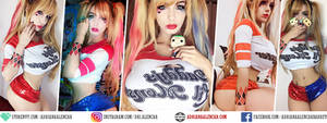 Harley Quinn / Arlequina - Adriana Alencar Cosplay by AdrianaAlencar