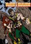 Hawkman Issue 2 Colored Cover for DC2