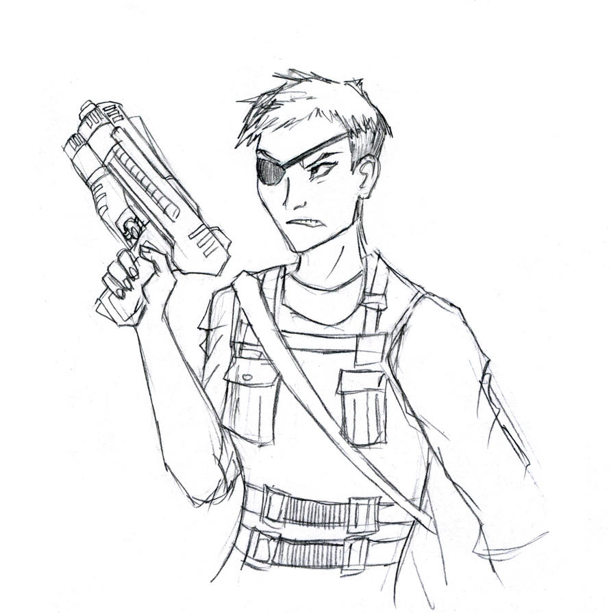 Lieutenant Takahashi (from Incident 784) by Blackbird93