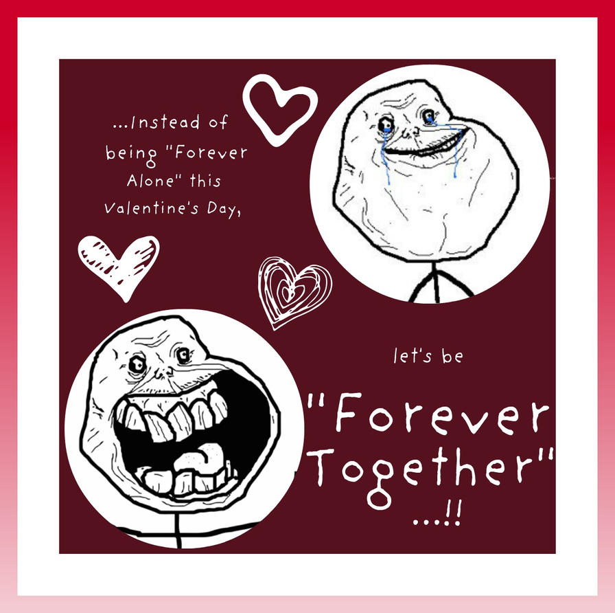 Forever Together Valentine's Card 3 by Juandii
