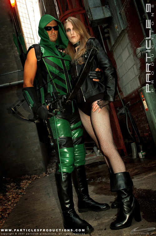 Green Arrow and Black Canary 6 by Superchica