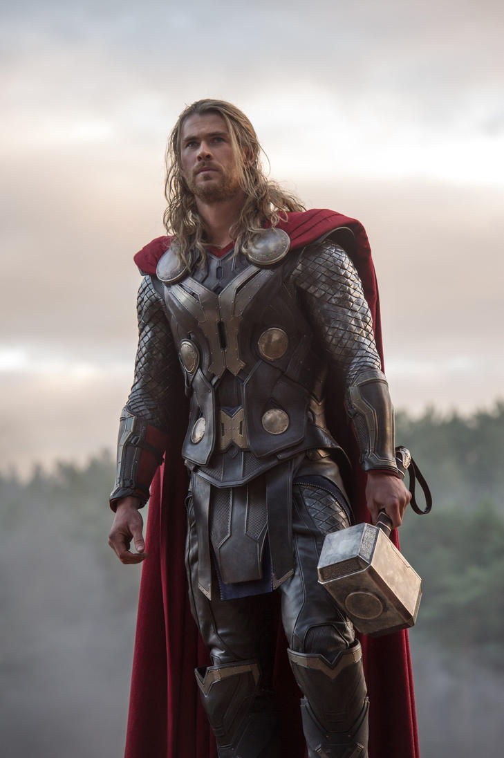 Chris-hemsworth-as-thor by Superchica