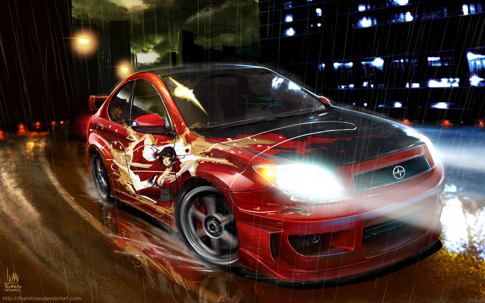 Tear It Up, Red Ninja by transfuse