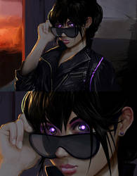 Hey, Bright Eyes by transfuse