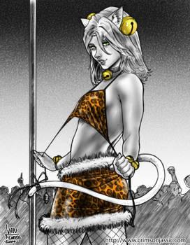 Strip Kitten