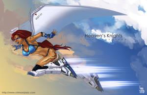 Heaven's Knight by transfuse
