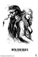 Snake and Eva by transfuse