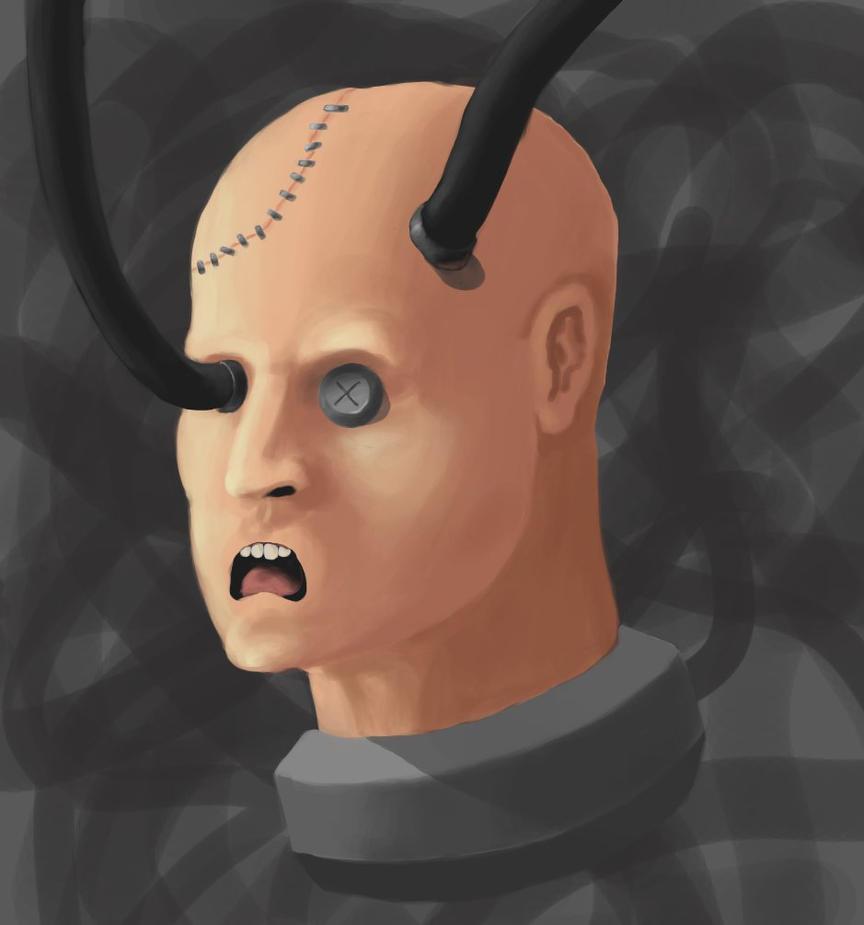 No Eyebrows For You Mranshumanism By Gabian On Deviantart