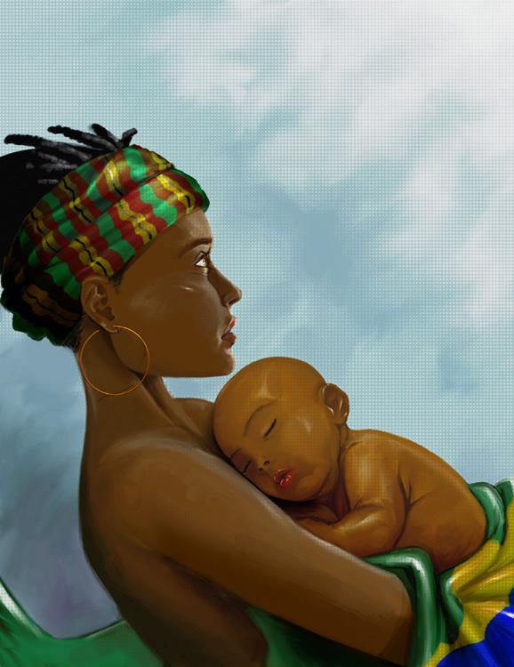 Mother Africa by dracoimagem-com