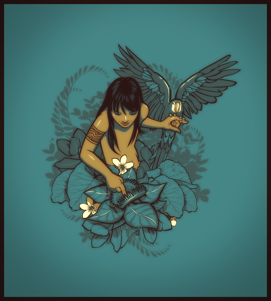 Inocencia Nativa by dracoimagem-com