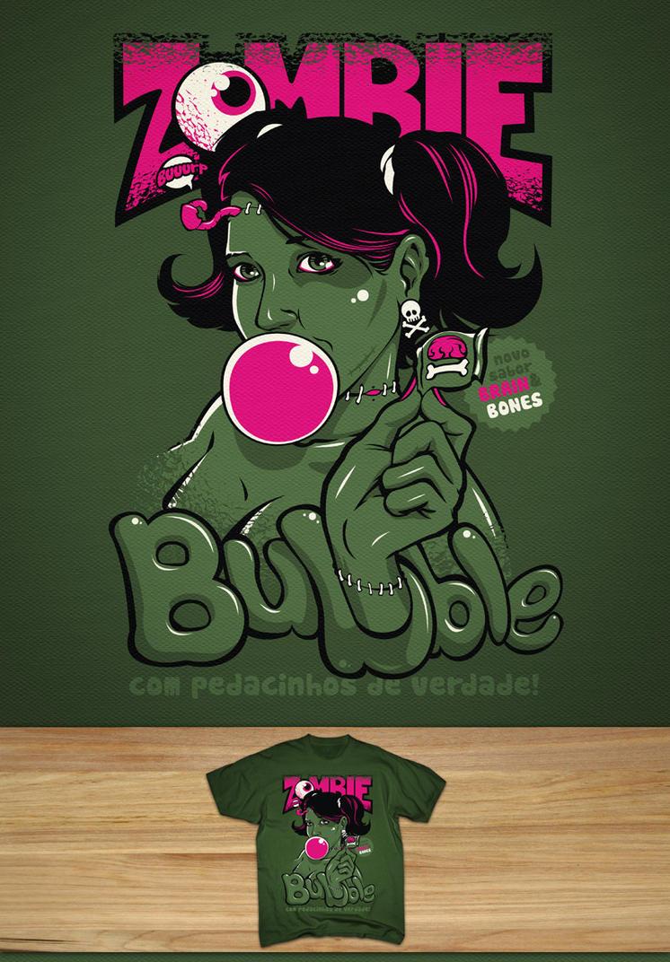 Zombie Bubble by dracoimagem-com