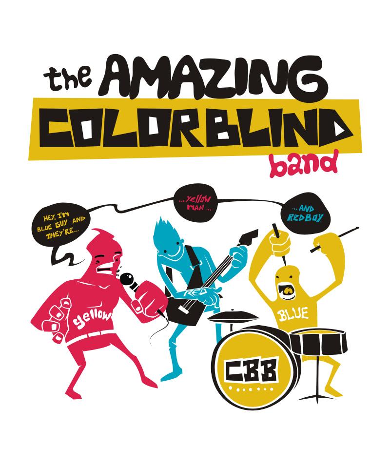 colorblind band by dracoimagem-com