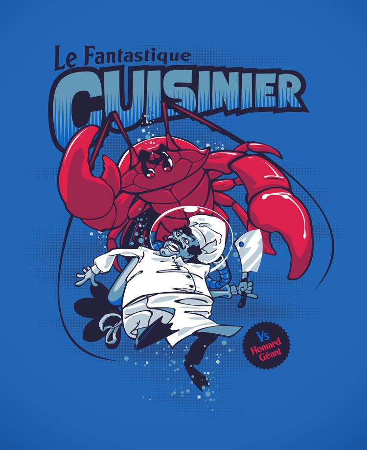 Le fantastique cuisinier by dracoimagem-com