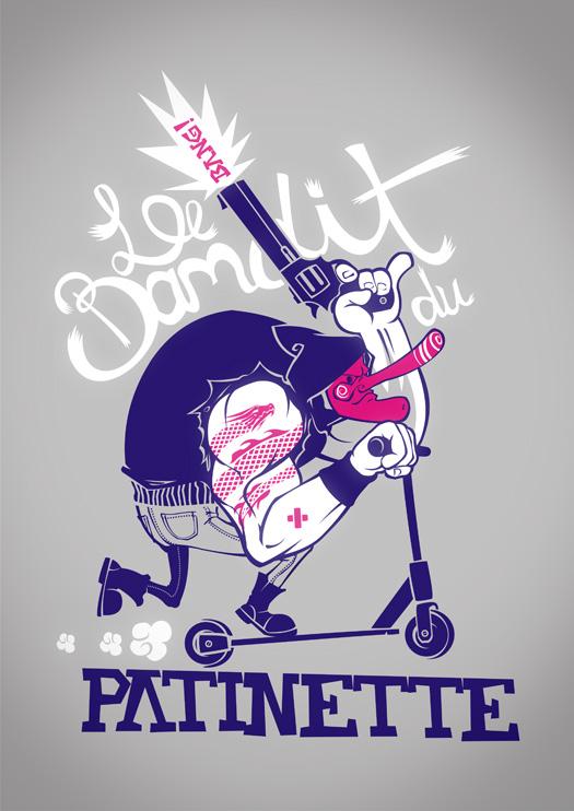 Le Bandit du Patinette by dracoimagem-com