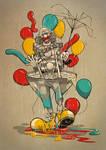 Clown Vs Rain