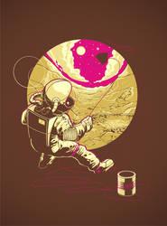 Space Kite by dracoimagem-com