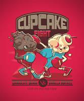 Cupcake Fight by dracoimagem-com