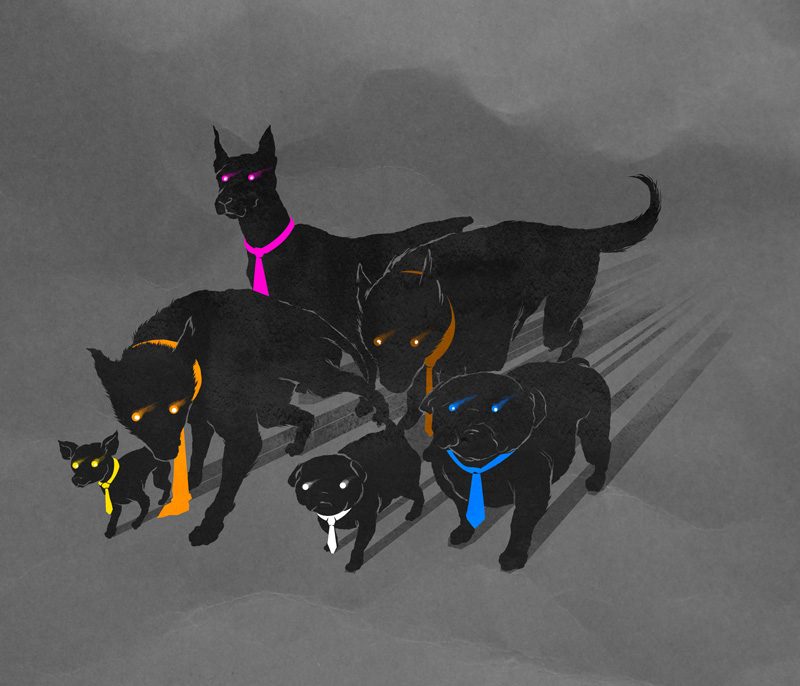 Reservoir Dogs by dracoimagem-com