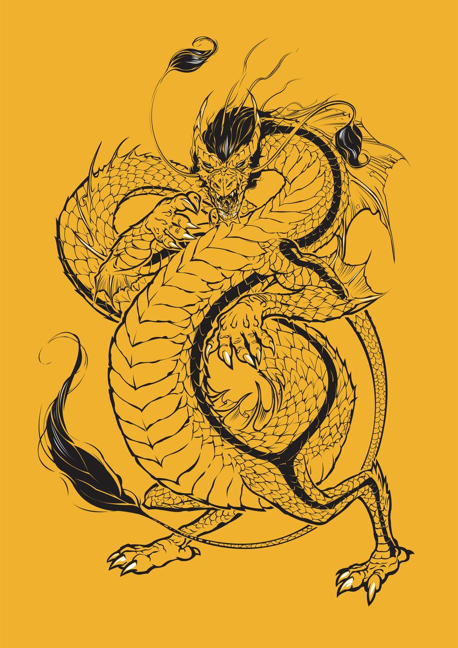 bruce, the dragon by dracoimagem-com