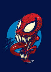 SpiderVenomous by dracoimagem-com