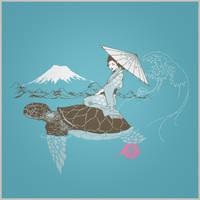 Sonhos de uma gueixa voadora by dracoimagem-com