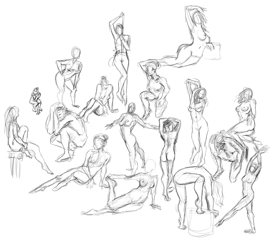 10-1 Figure Drawing by Otakatt