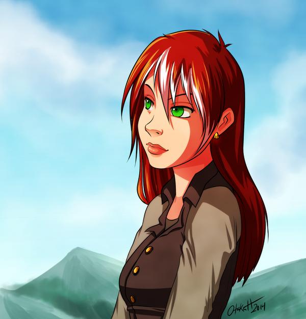 DnD - Maxine 2 by Otakatt