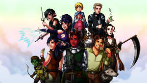 Dungeons and Dragons Campaign 4 Group Shot