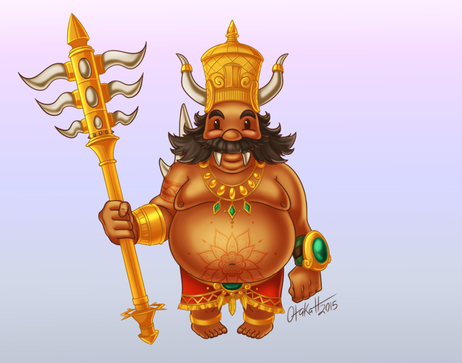 Smite - Kumbhakarna, The Sleeping Giant by Otakatt