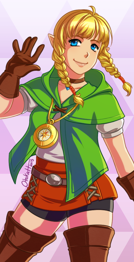 Hyrule Warriors Legends - Linkle by Otakatt