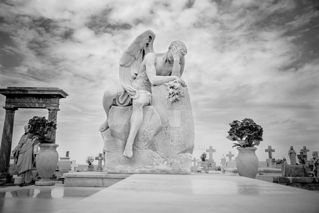 Stone Garden#2-Weeping Angel by jhako29