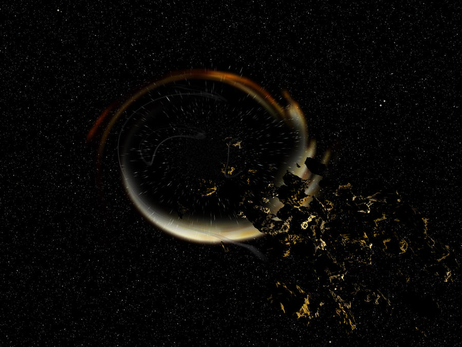 Black hole. by Astralview